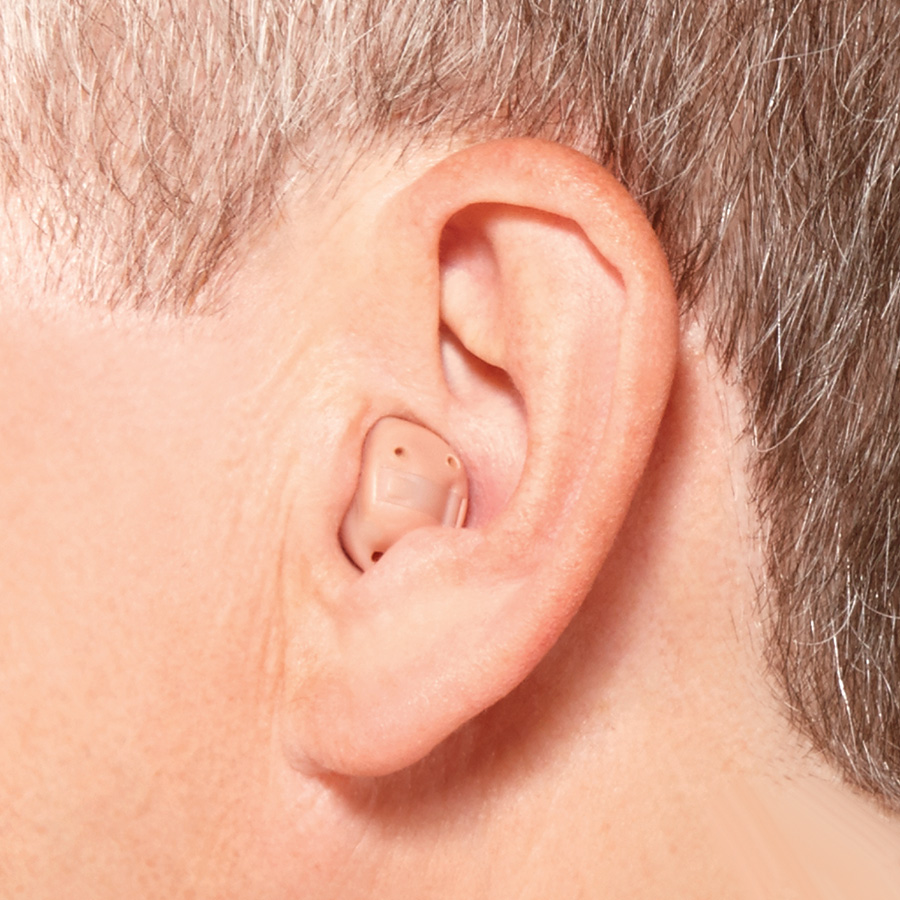 Hidden hearing aids - ITC (In The Canal)