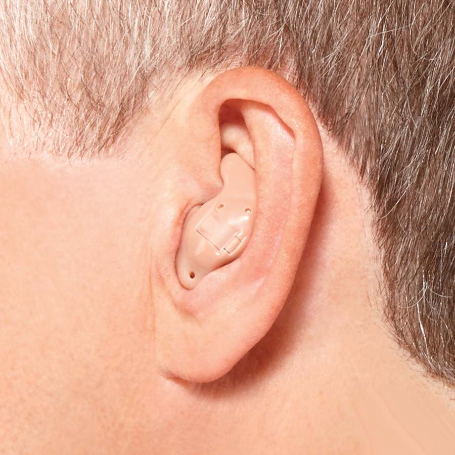 Hidden hearing aids - ITE (In The Ear)
